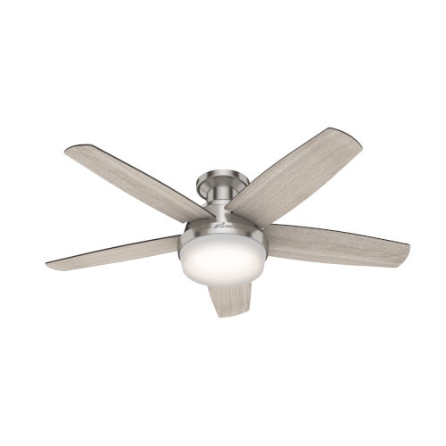 Avia Brushed Nickel 48-Inch LED Ceiling Fan