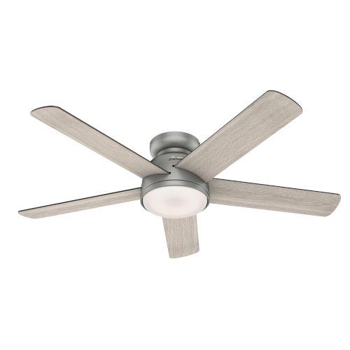 Romulus Low Profile 54-Inch Smart LED Ceiling Fan