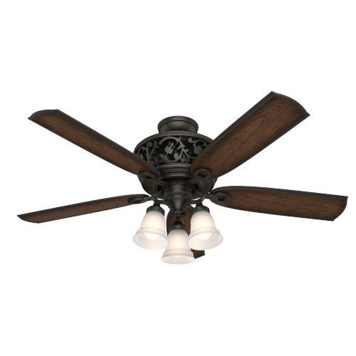 Promenade  54-Inch DC Motor LED Ceiling Fan