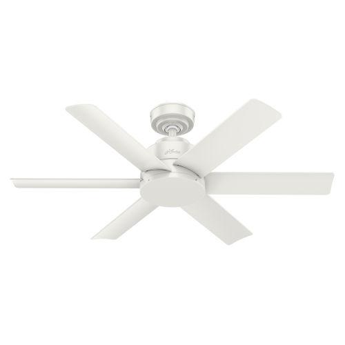 Kennicott Fresh White 44-Inch Outdoor Ceiling Fan