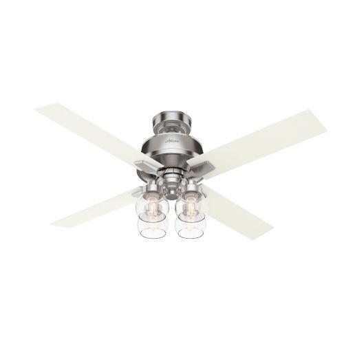 Viven Brushed Nickel 52-Inch LED Ceiling Fan
