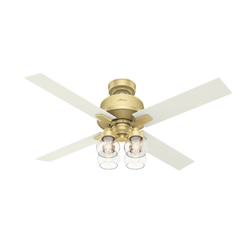 Viven Modern Brass 52-Inch LED Ceiling Fan