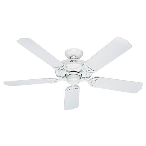 Hunter Fans Sea Air White 52-Inch Energy Star Outdoor Ceiling Fan