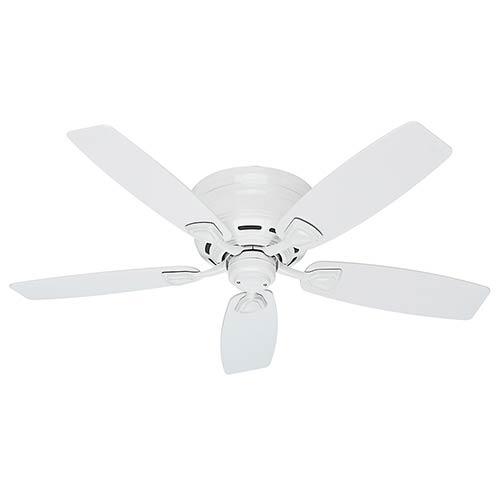 Sea Wind White 48-Inch Ceiling Fan