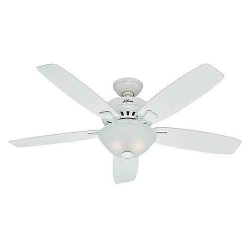 Banyan Snow White Two Light 52-Inch Ceiling Fan
