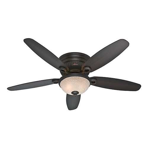 Hunter Fans Ashmont Onyx Bengal Three Light 52-Inch Ceiling Fan