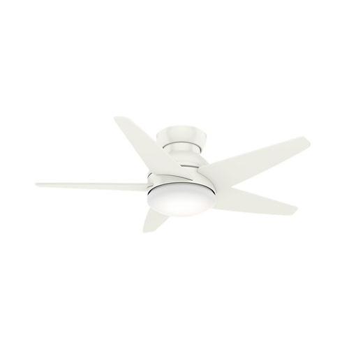 Isotope Fresh White 44-Inch LED Ceiling Fan