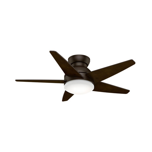 Isotope Brushed Cocoa 44-Inch LED Ceiling Fan