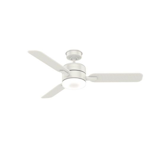 Paume Fresh White 54-Inch Outdoor LED Ceiling Fan