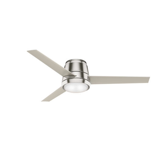 Commodus Brushed Nickel 54-Inch LED Ceiling Fan