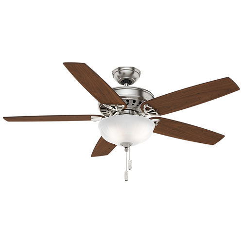 Concentra Gallery Brushed Nickel 54-Inch Ceiling Fan
