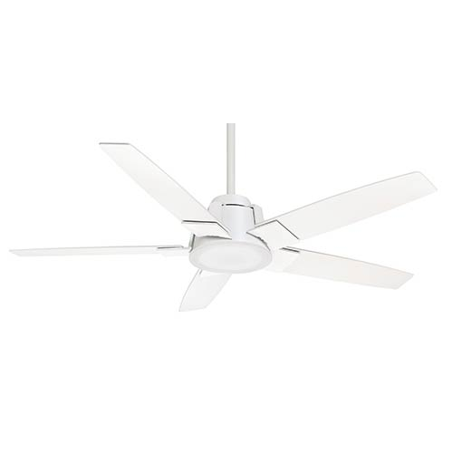 Casablanca Fans Zudio Snow White One-Light Energy Star 56-Inch Ceiling Fan