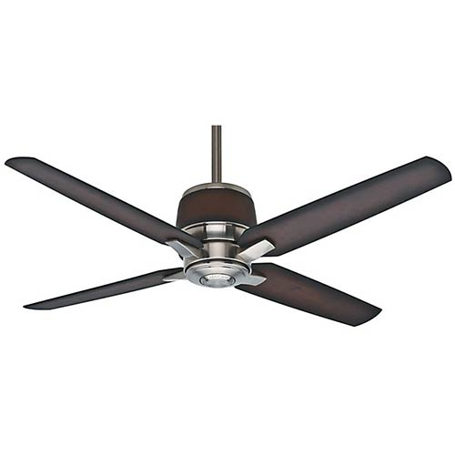 Aris Brushed Nickel Energy Star 54-Inch Outdoor Ceiling Fan