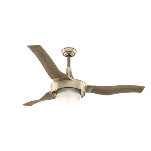 Perseus Metallic Sun Sand 64-Inch LED Energy Star Ceiling Fan