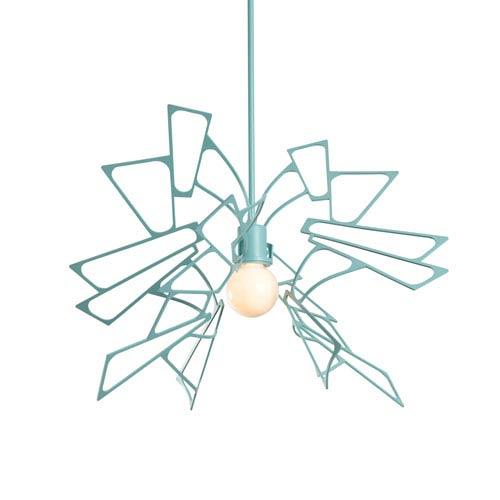 Monarch Satin Aqua One-Light Pendant