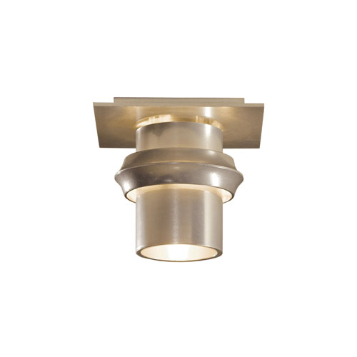 Twilight Vintage Platinum One-Light 6-Inch Semi-Flush