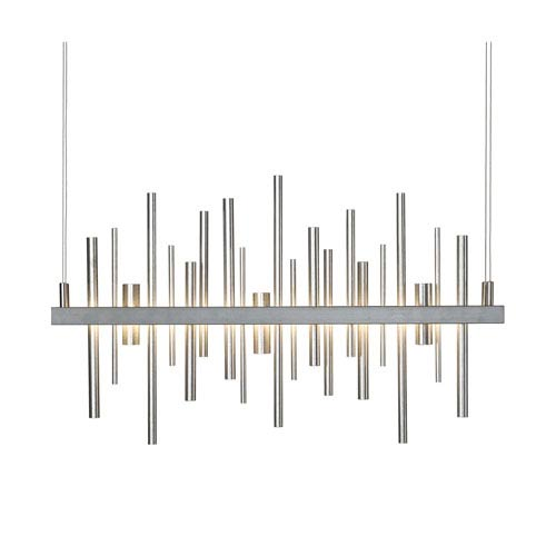 Cityscape Bronze 26-Inch LED Pendant with Soft Gold Accent