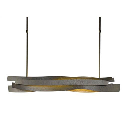 Hubbardton Forge Landscape Dark Smoke 37.5-Inch LED Pendant