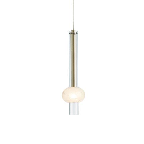 Martini Soft Gold One-Light 4-Inch Mini Pendant with Clear Glass