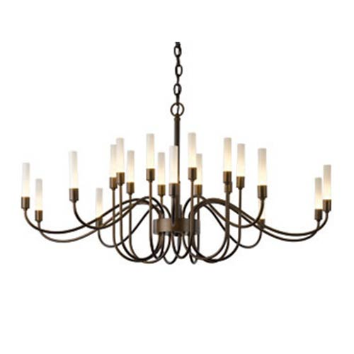 Lisse Mahogany 20-Light Chandelier