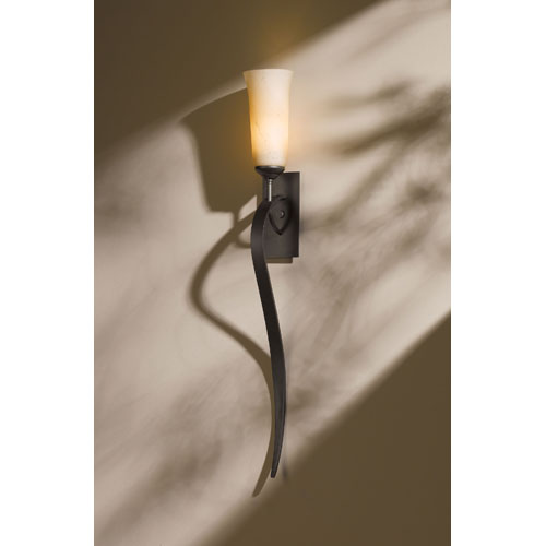 Hubbardton Forge Sweeping Taper: Natural Stone Sconces