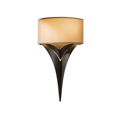 Calla Bronze 10-Inch Two-Light Wall Sconce