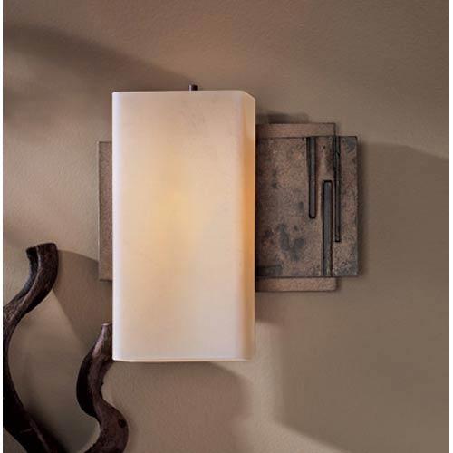 Hubbardton Forge Bronze One-Light Bath Light