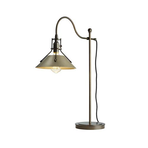 Henry Bronze One-Light 9-Inch Table Lamp
