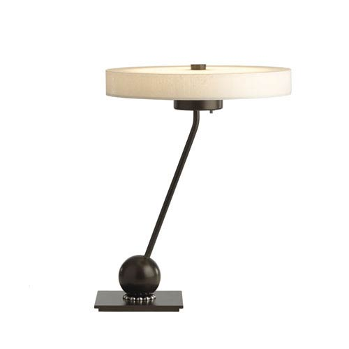 Disq Dark Smoke 15-Inch LED Table Lamp