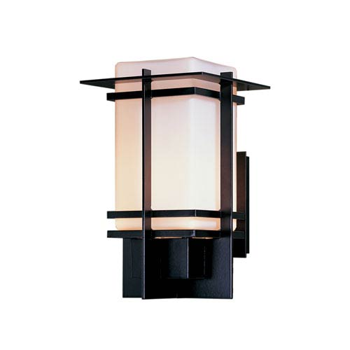 Tourou Black 8.5-Inch One-Light Outdoor Wall Sconce