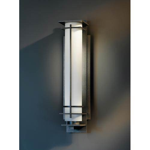 After Hours Extra Large Natural Iron Fluorescent One-Light Outdoor Wall Light