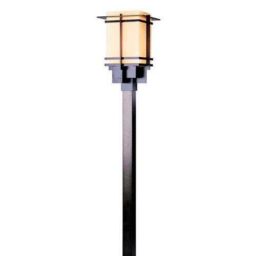 Tourou Black 12-Inch One-Light Outdoor Post Light