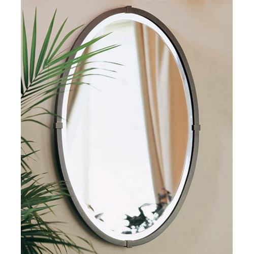 Oval Bronze Mirror