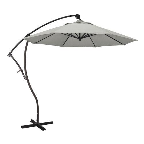 Bayside Bronze with Granite Nine-Feet Sunbrella Patio Umbrella