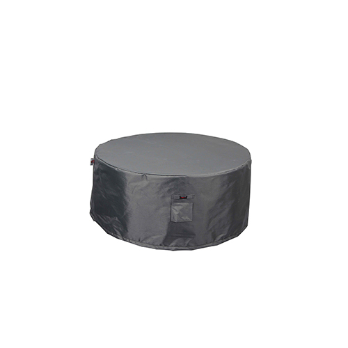 Titanium Shield Outdoor 52-Inch Round Fire Table Cover