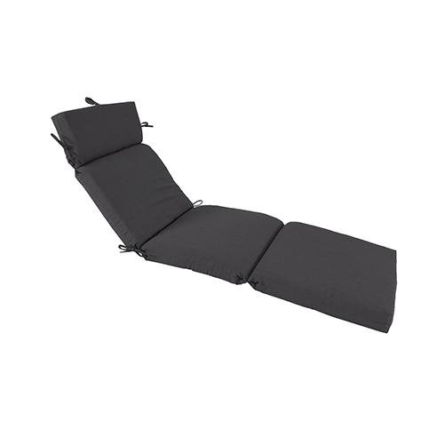 Pacifica Premium Patio Chaise Cushion in Slate