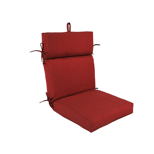 Pacifica Premium Patio Dining Chair Cushion in Caliente