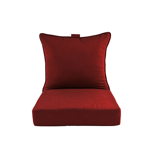 Pacifica Premium Deep Seat Lounge Cushion in Caliente