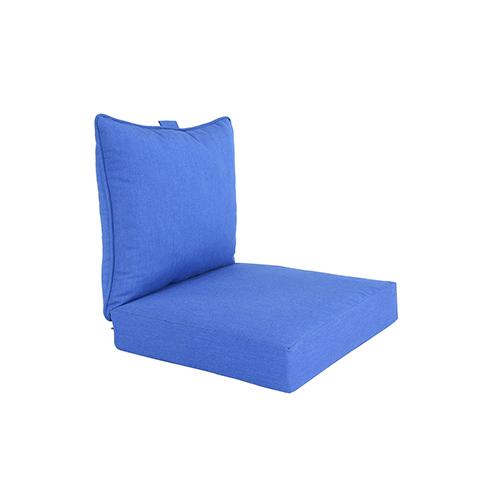 Pacifica Premium Deep Seat Lounge Cushion in Lapis