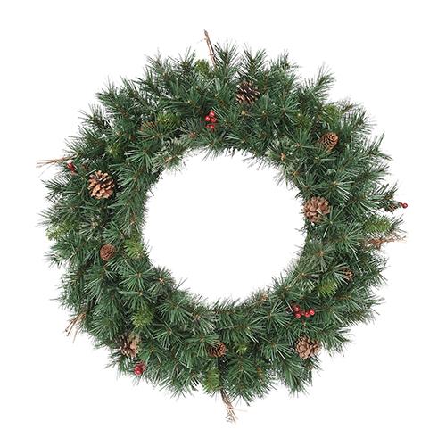 30-Inch Wreath Christmas Decor Accessory