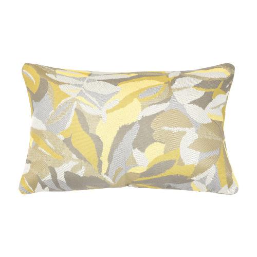 Pacifica Dewey Yellow Throw Pillow
