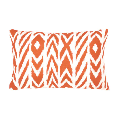 Pacifica Fire Island Tuscan Orange Throw Pillow