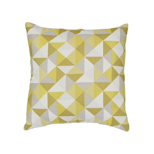 Pacifica 24-Inch Ruskin Yellow Throw Pillow