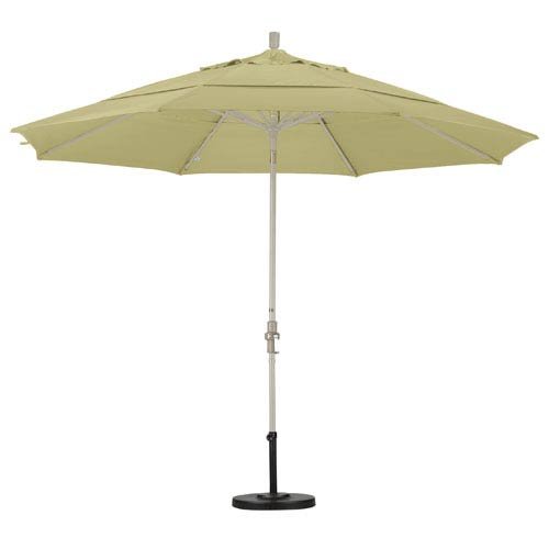 11 Foot Umbrella Aluminum Market Collar Tilt Double Vent Sand/Sunbrella/Antique Beige