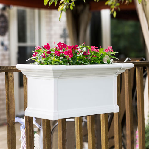 Yorkshire White 36-Inch Window Box