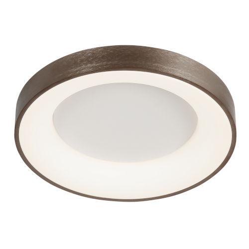 Acryluxe Sway Light Bronze LED Flush Mount