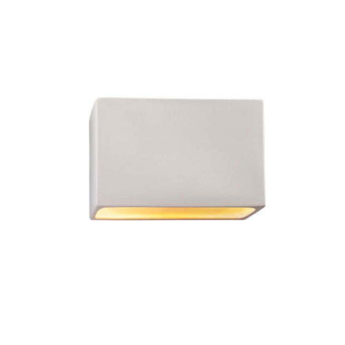 Ambiance Bisque 10-Inch One-Light Open Top and Bottom Wall Sconce
