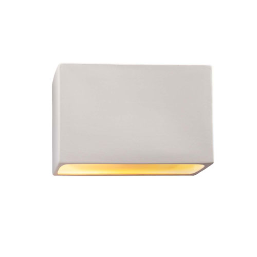 Ambiance Bisque 12-Inch Two-Light Open Top and Bottom Wall Sconce