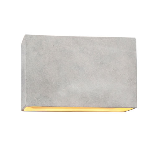 Ambiance ADA Two-Light LED Outdoor Ceramic Rectangle Wall Sconce