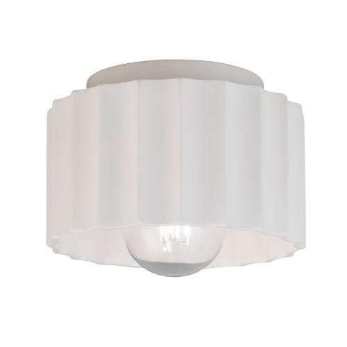 Radiance One-Light Ceramic Flush Mount